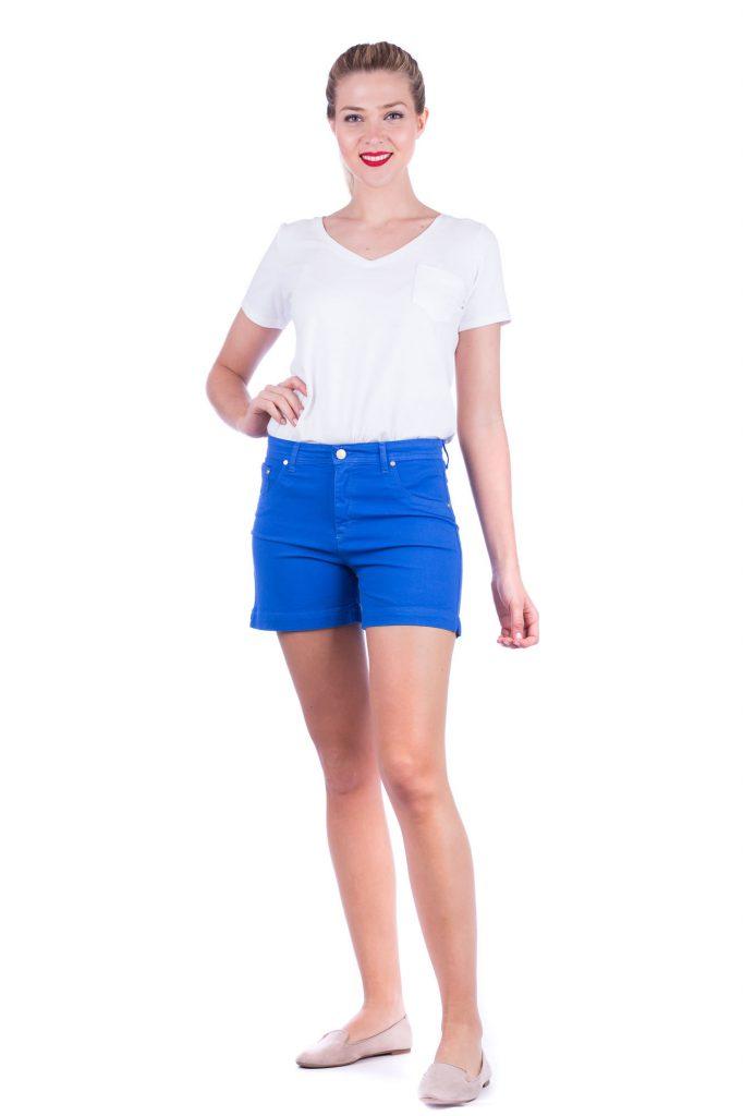 short jeans colores para señoras verano 2020 Adriana Costantini