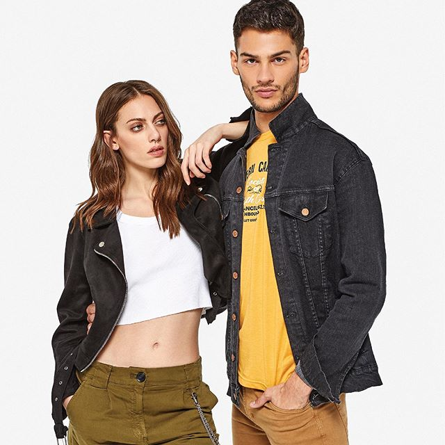 tops basicos y campera jeans mujer Le Utthe primavera verano 2020