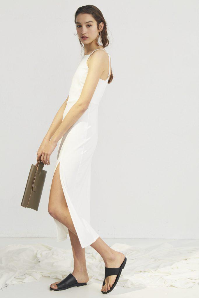 vestido blanco para la oficina Bled verano 2020