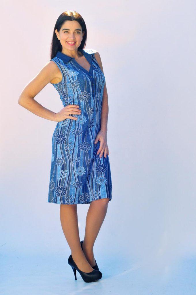 vestido estampado urbano señoras Veramo talles grandes verano