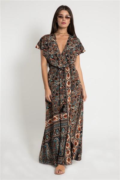 vestido largo casual santa bohemia verano 2020