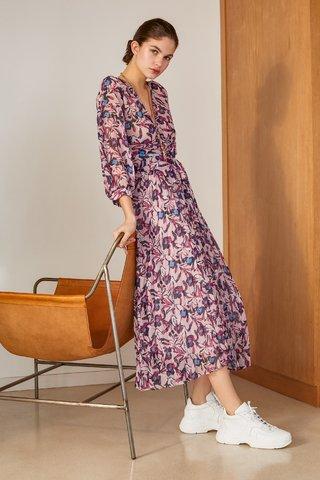 vestido largo urbano para señoras Carmela Achaval verano 2020