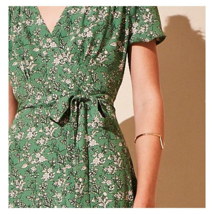 vestido urbano fibrana cruzado Akiabara verano 2020
