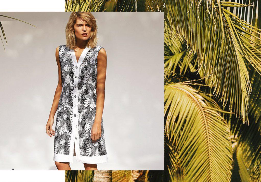 vestidos urbanos y elegantes Garofalo verano 2020