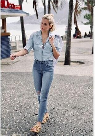 Riffle jeansModa en denim primavera verano 2020