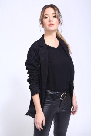 blazer con brillo mujer verano 2020 by Ona Saez
