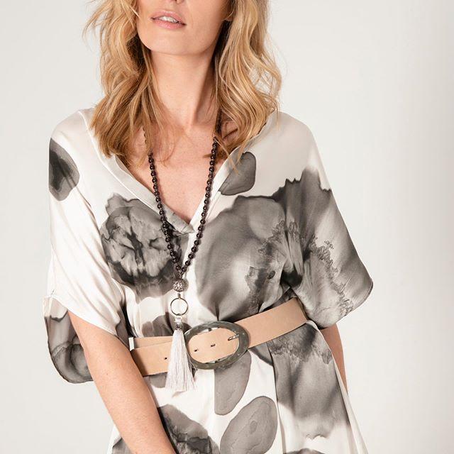 blusa estampadas para señoras verano 2020 Marcela Pagella