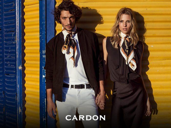 blusa y pollera negra Cardon verano 2020
