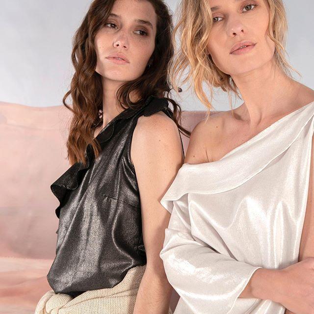 blusas de seda verano 2020 Marcela Pagella