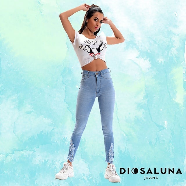 jeans chupin juvenil Diosa Luna verano 2020