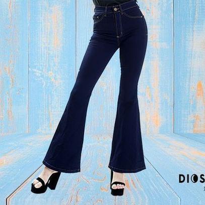 jeans oxford tiro alto Diosa Luna verano 2020