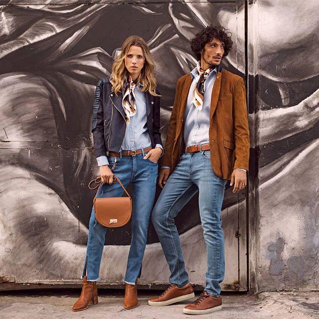 jeans recto y camisa mujer Cardon verano 2020