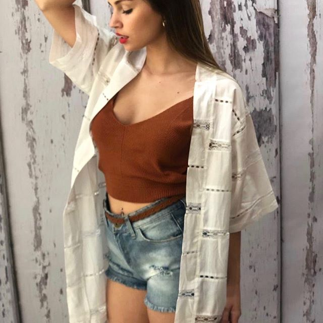 kimono casual Alma jeans verano 2020