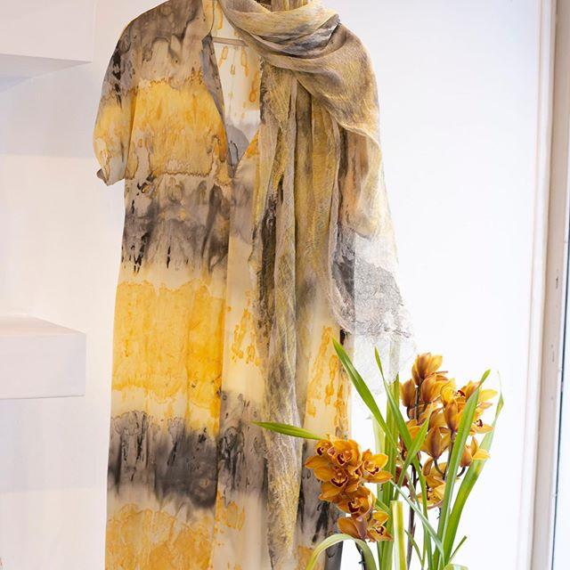 kimono estampa batik largo verano 2020 Marcela Pagella