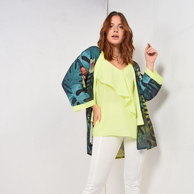 kimono estampado Noelia G verano 2020