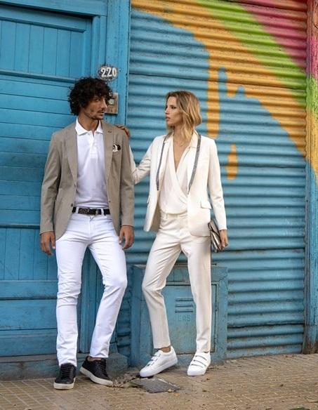 look casual con traje mujer Cardon verano 2020