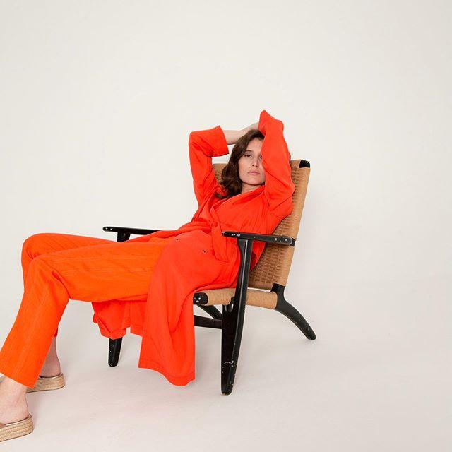 look naranja verano 2020 Marcela Pagella