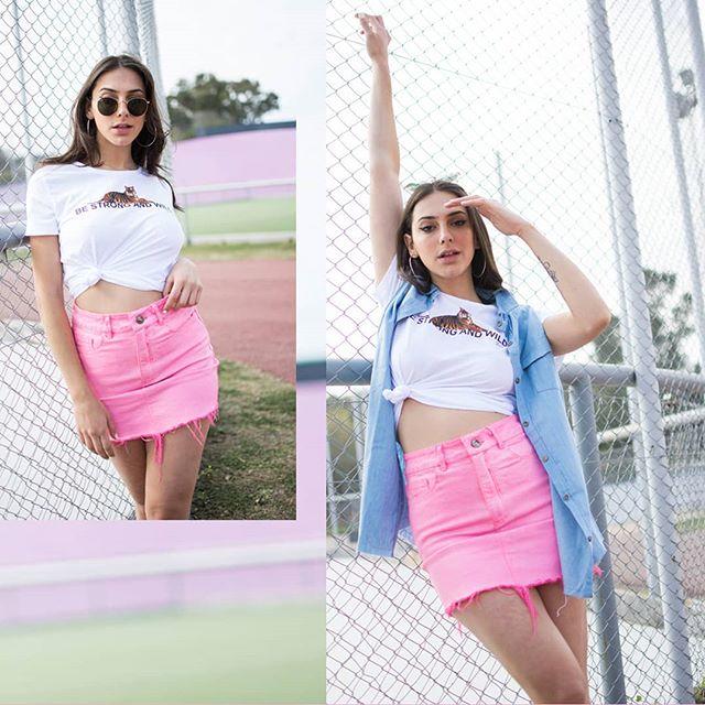 minffalda rosada verano 2020 Soana