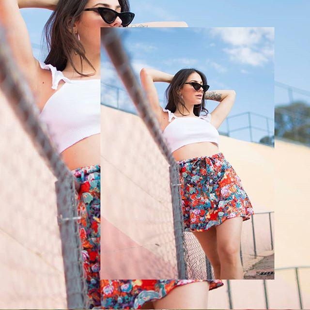minifalda fibrana juvenil verano 2020 Soana