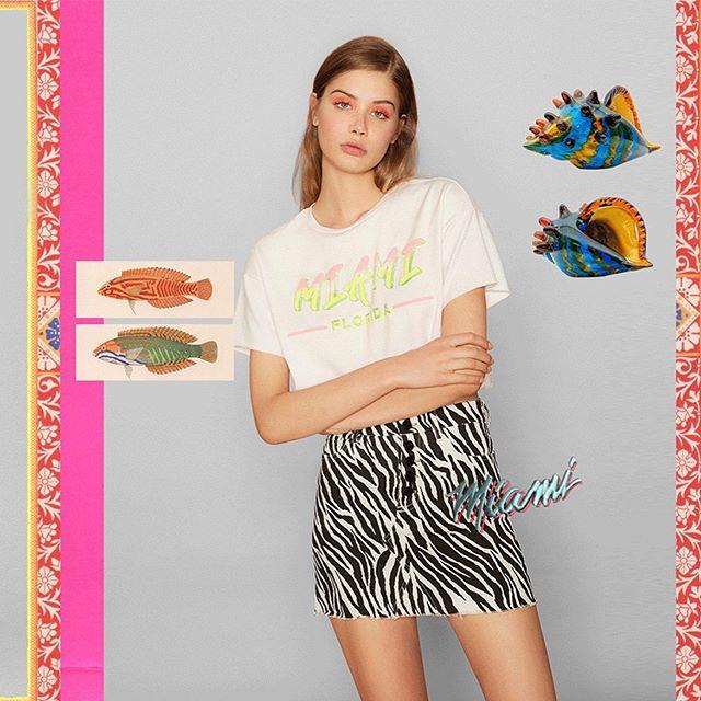 minifalda zebra animal print urbana moda juvenil verano 2020 RIE