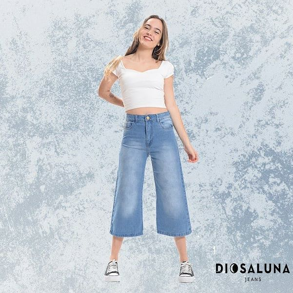 pantacourt jeans Diosa Luna verano 2020