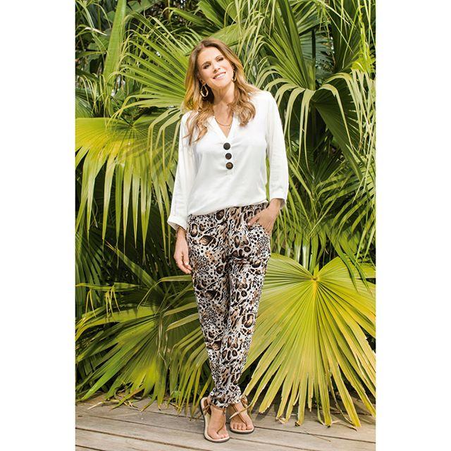 pantalon babucha estampado Chatelet señoras verano 2020