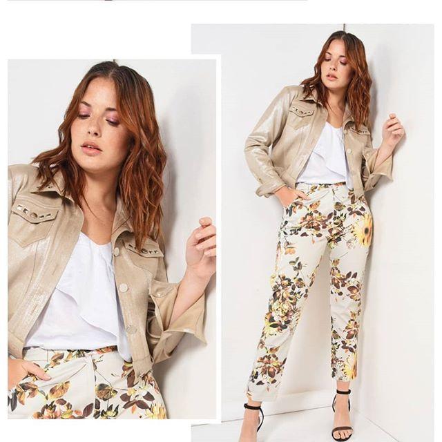 pantalon estampado mujer Noelia G verano 2020