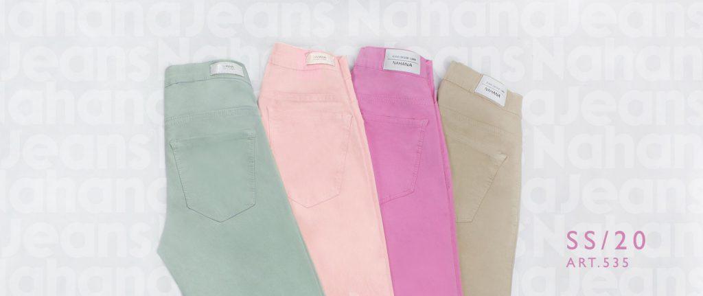 pantalones de gabardina Nahana Jeans verano 2020