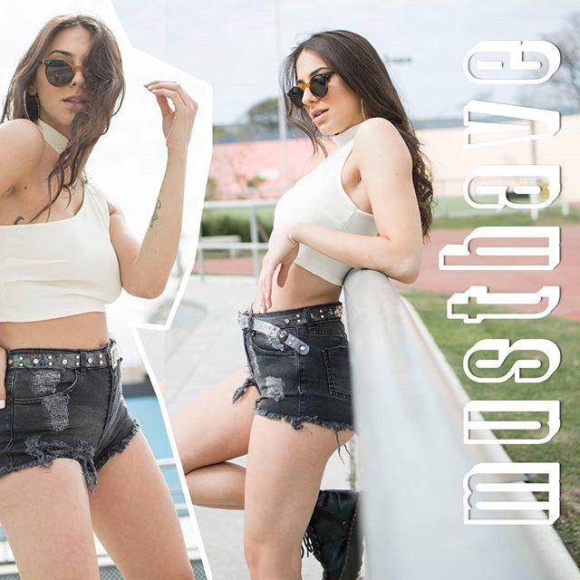 short de jeans con roturas verano 2020 Soana