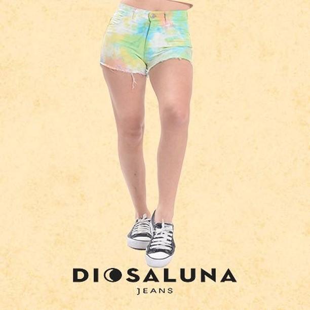 short jeans batik Diosa Luna verano 2020