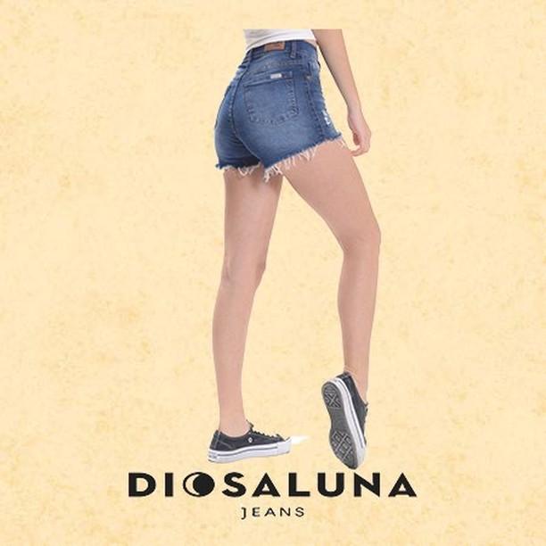 short jeans rusticos Diosa Luna verano 2020