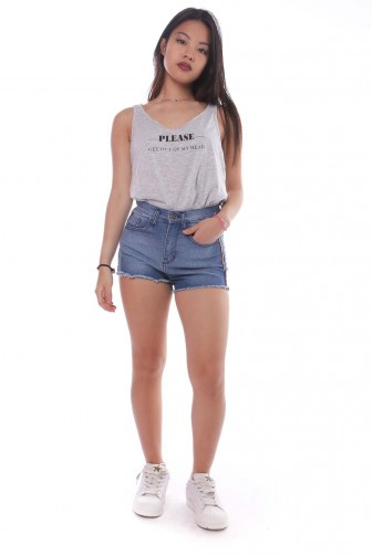 short tiro alto Vov jeans verano 2020