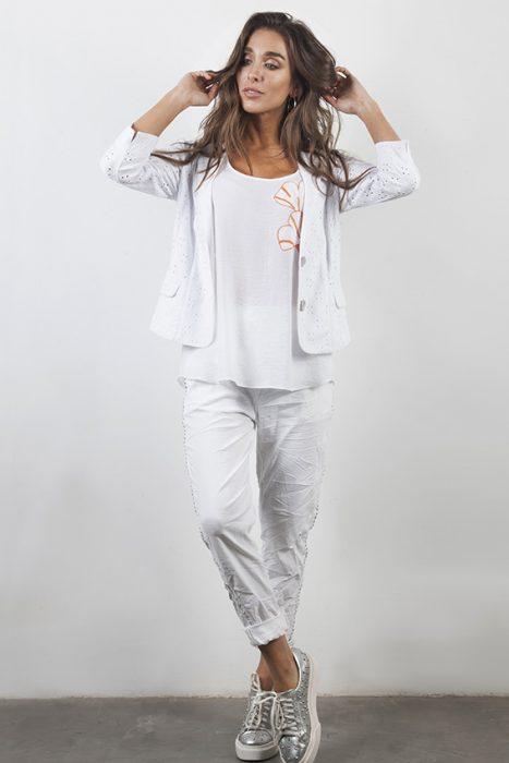 trajes de lino sporty chic carla vianinni verano 2020