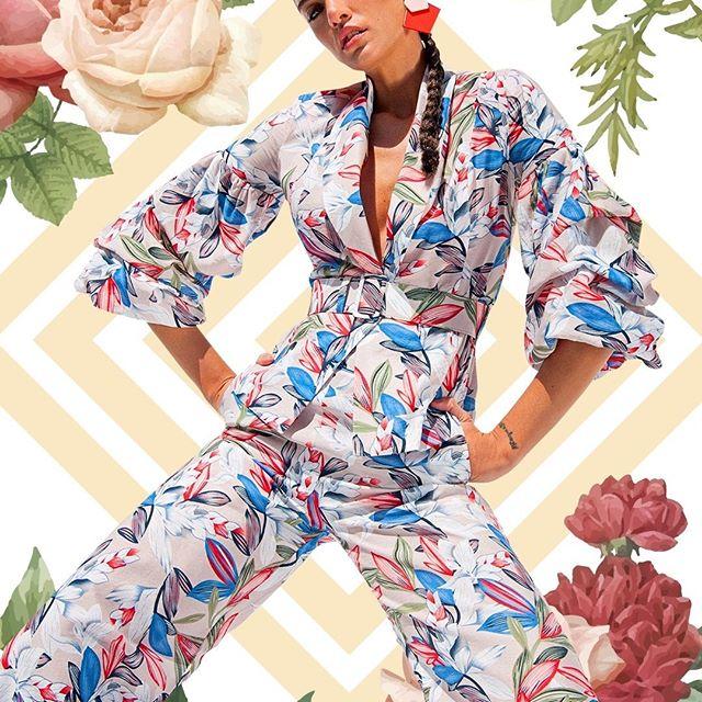 trajes de mujer estampados Anna Rossatti verno 2020