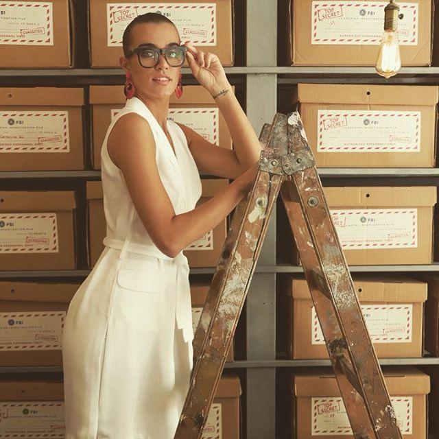 vestido camisero de lino Anna Rossatti verno 2020