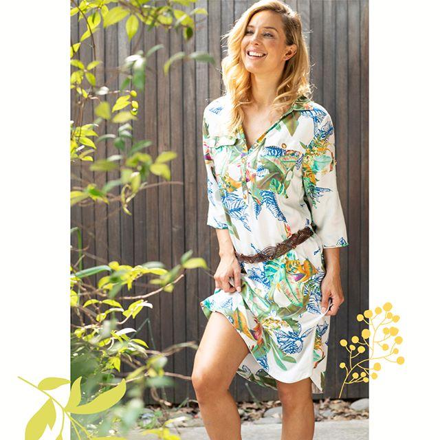 vestido camisero estampado Chatelet señoras verano 2020