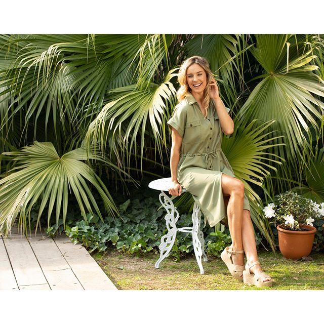 vestido camisero liso Chatelet señoras verano 2020