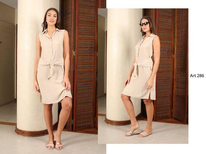 vestido corto casual urbano señoras arauz sweaters verano 2020