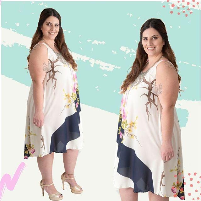 vestido corto para gorditas verano 2020 Portofem