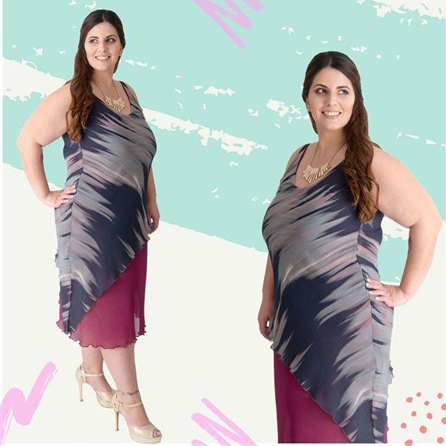 vestidos de noche para gorditas verano 2020 Portofem
