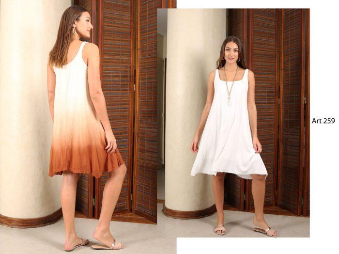 vestidos holgados para señoras Arauz verano 2020