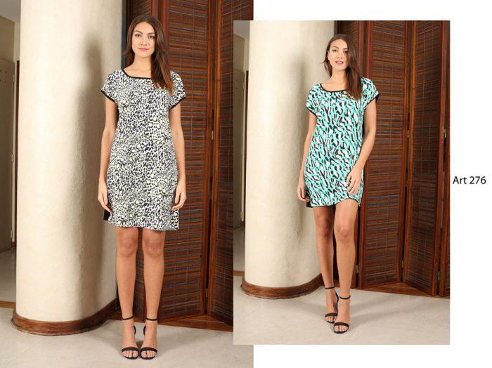 vestidos informales estampados señoras Arauz verano 2020
