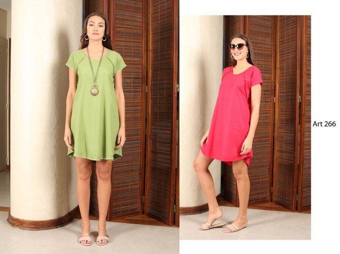vestidos informales para señoras arauz verano 2020