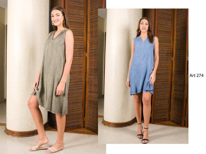 vestidos informales y frescos para el verano señoras Arauz verano 2020