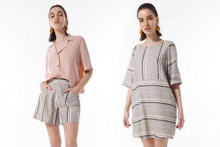 vestidos y short sastrero Felicity Urban verano 2020