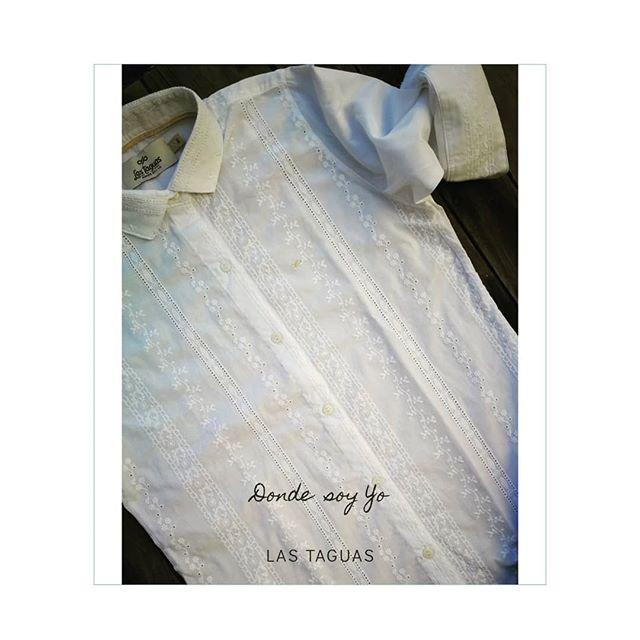 camisa broderie blanca Las taguas verano 2020