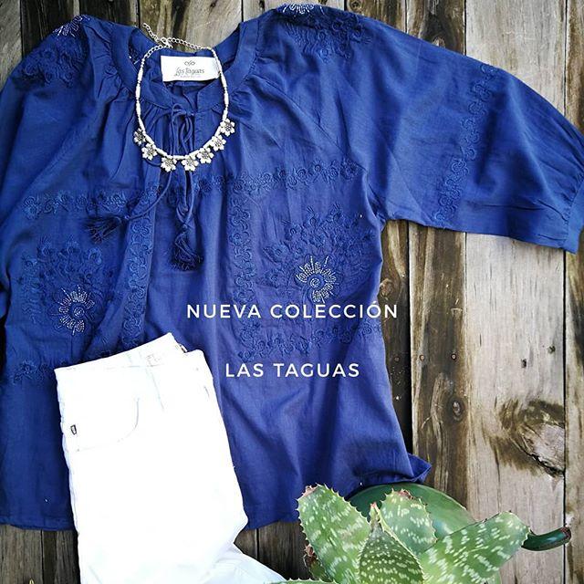 camisola de broderie colores Las taguas verano 2020
