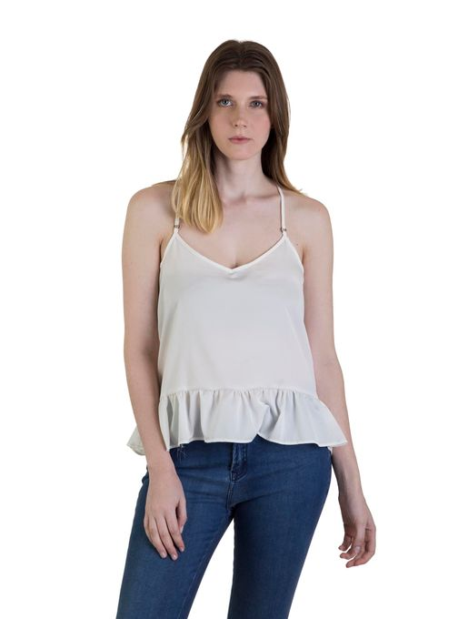 musculosa basica y jeans mujer legacy verano 2020