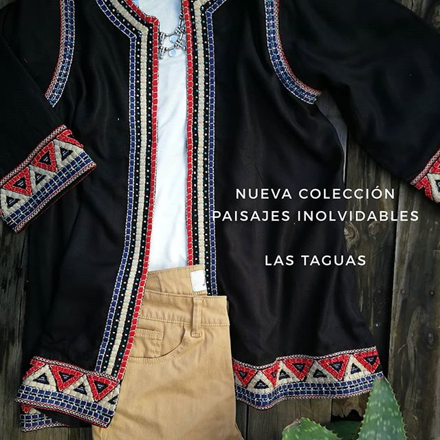 saquito con guardas Las taguas verano 2020
