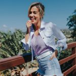 Outfit con short de jeans - Estilo Ambar verano 2020